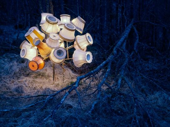 Rune Guneriussen - landart installations