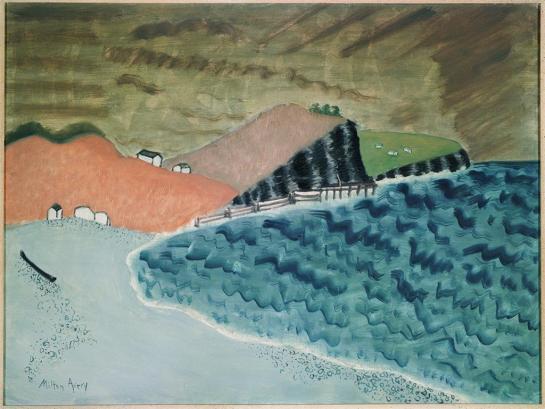 Milton Avery - Gaspé Landscape