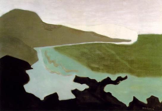 Milton Avery - Green Sea, 1954