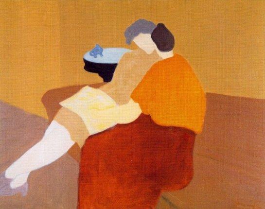 Milton Avery - Poetry Reading, 1957