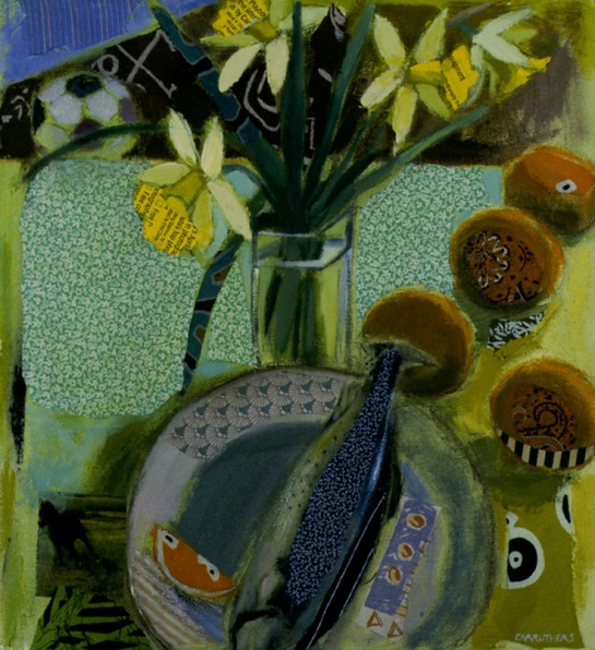 Lise Carruthers - Orange Daffodil