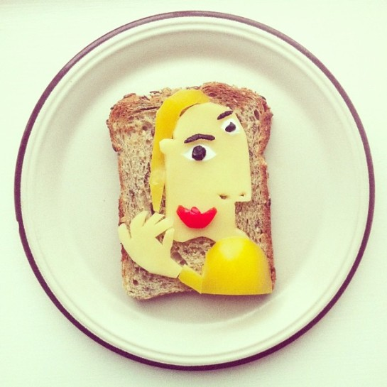 Ida Frosk - Art Toast Project - Pablo Picasso