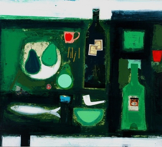 Simon Laurie, Arrangement in Green