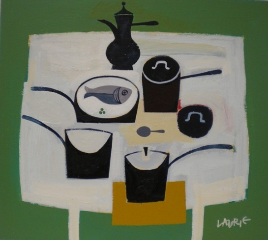 Simon Laurie, Pots and Pans