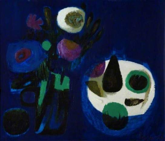 Mary Fedden - Blue Still Life