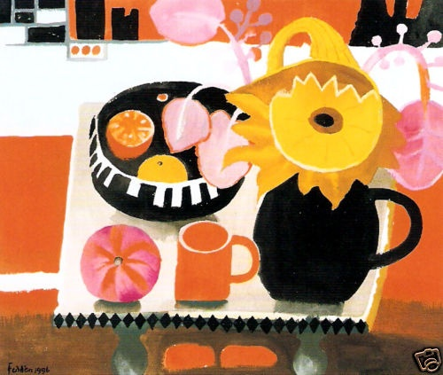 Mary Fedden - Orange Mug