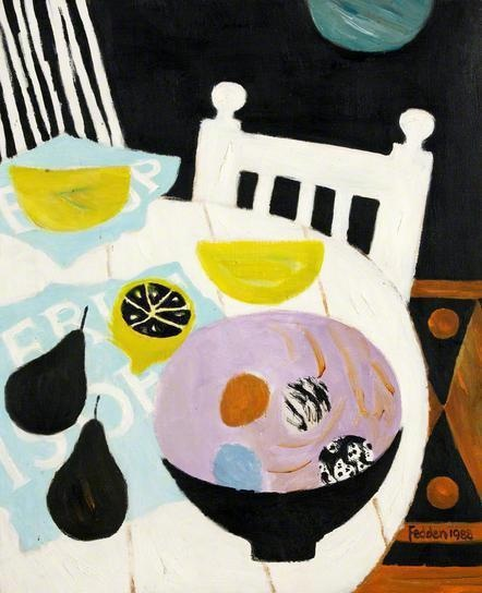 Mary Fedden - Spanish Chair