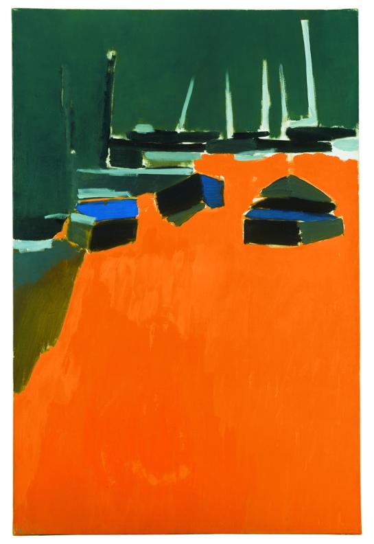 mapart.me:   Nicolas de Stael - Les Martigues, 1954