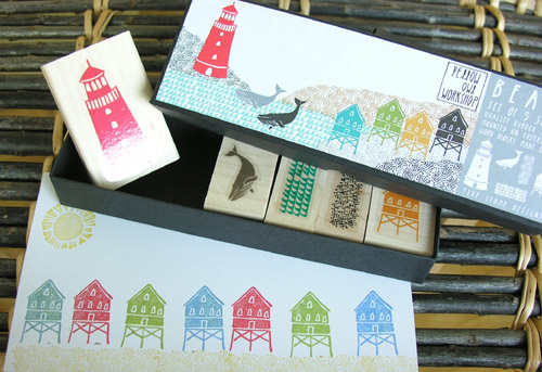 Tinsmiths stamp sets - Beach