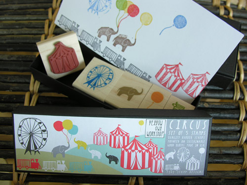 Tinsmiths stamp sets - Circus