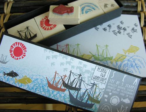 Tinsmiths stamp sets - Ocean