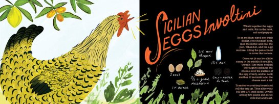 They Draw & Cook - Sicilian Eggs Involtini by Sarah Ferone