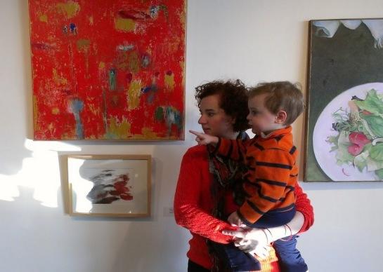 Ana Zanic with her son Albert