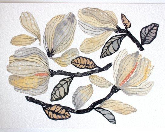 mapart.me:   Marisa Redondo - Magnolia Branches