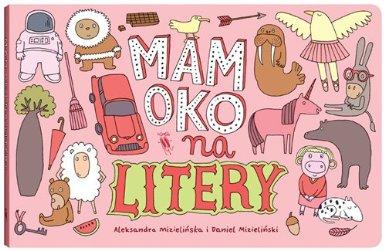 Mizielińscy - Mamoko - Letters